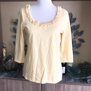 Talbots Super Soft Cotton Top 1337
